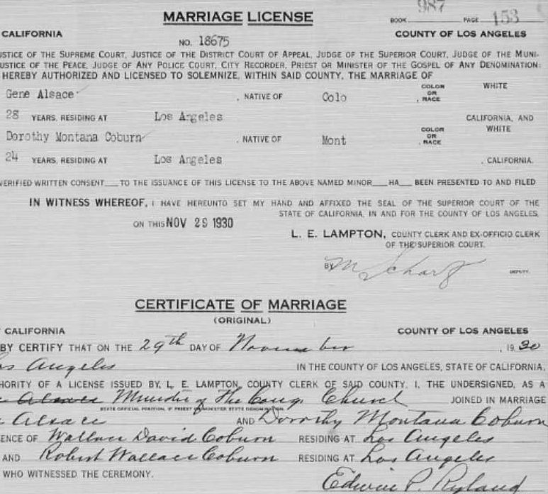 Divorce Records Search For: La County Marriage And Divorce Records